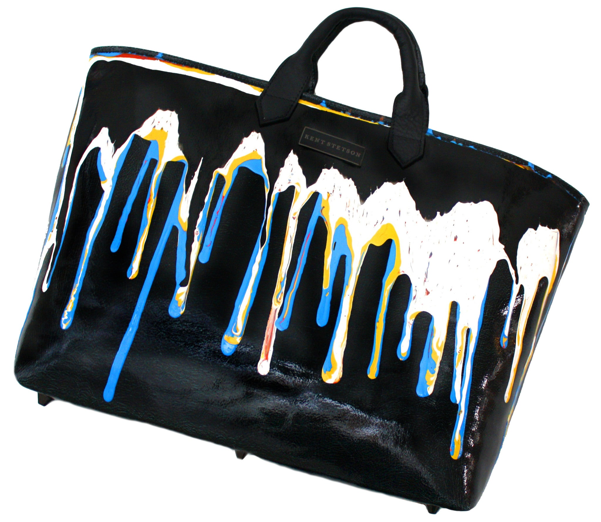 Dripping Paint Tote