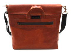Maple Leather Messenger Bag