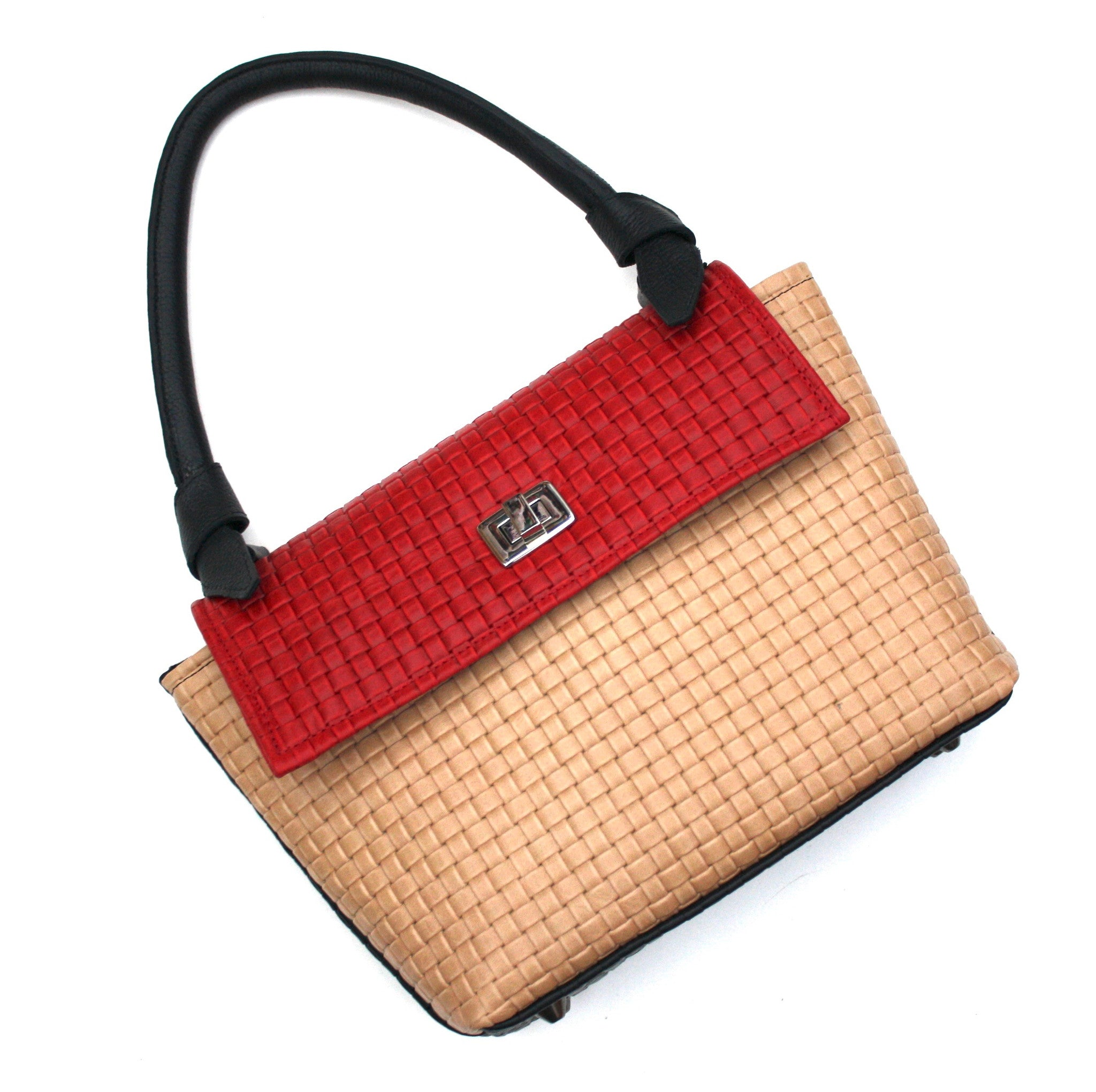 Color Block Small Tote