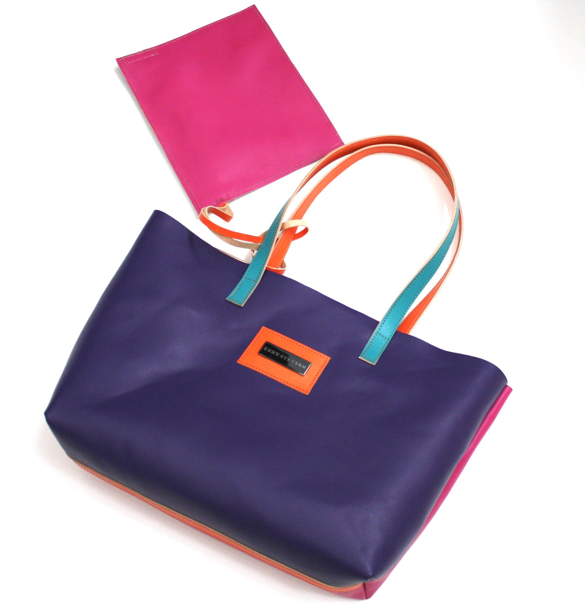 Color-block Tote
