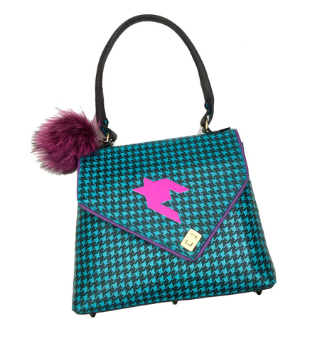 Pretty in Punk Top Handle Purse