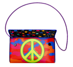 Peace Sign Clutch