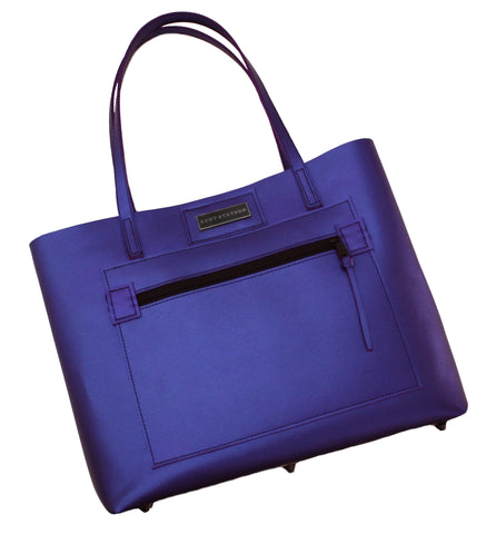 Rich Purple Shopper Tote