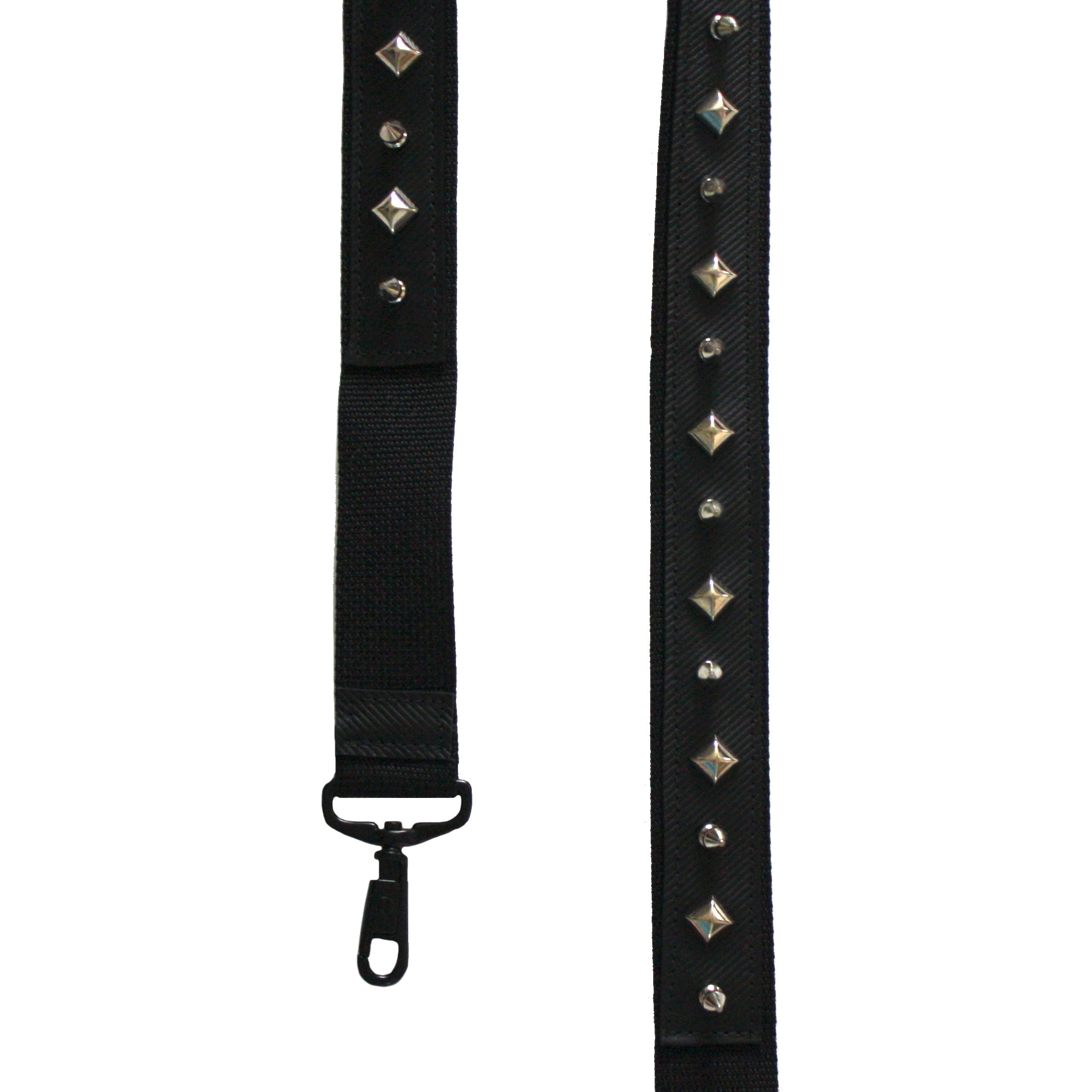 Silver Studded & Spiked Shoulder Strap