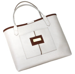 White Everyday Tote