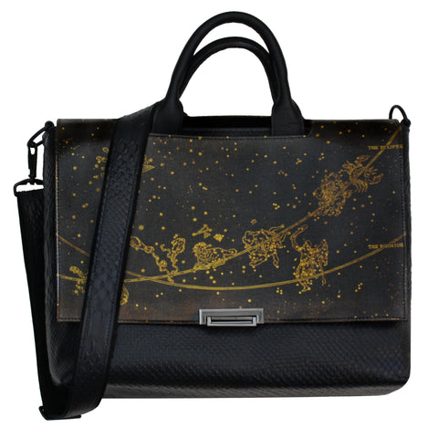 Zodiac Messenger Bag