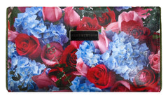 Berry Floral Bouquet Clutch