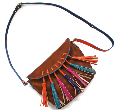 Coachella Tassel Crossbody