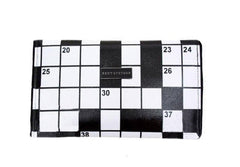 Crossword Puzzle Clutch