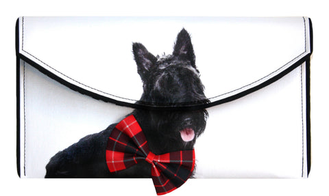 Scottish Terrier Clutch