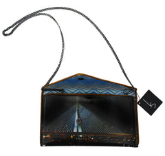 Boston Zakim Bridge Crossbody Clutch