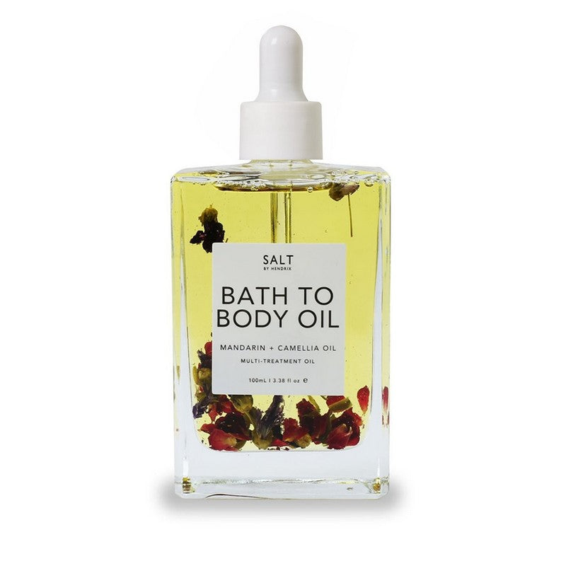 SALT Bath to Body oil- Mandarin & Camellia