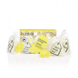 Bubble Bath T Bags -Lemongrass & green tea bath tea bags- X3 -120g