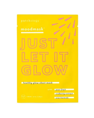 Mood Masque- Just Let It Glow- Single sheet mask
