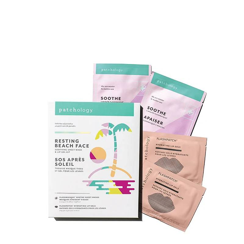 Resting Beach Face kit- Box X4 Masks