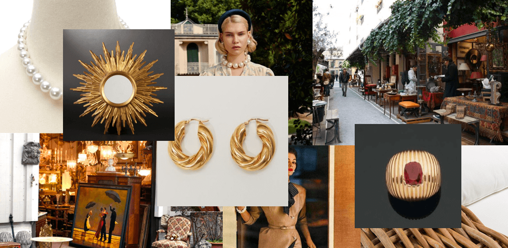 Les Audoniens collection moodboard