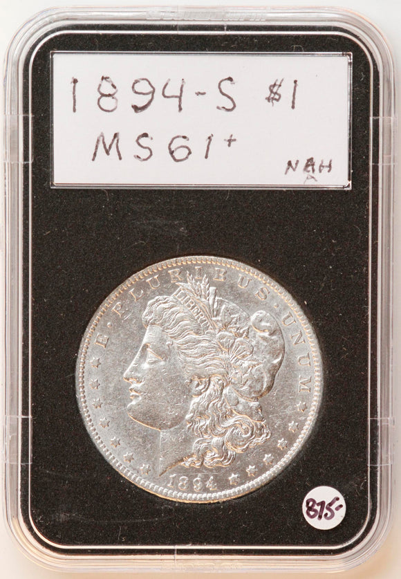 1894-S Morgan Silver Dollar MS-61