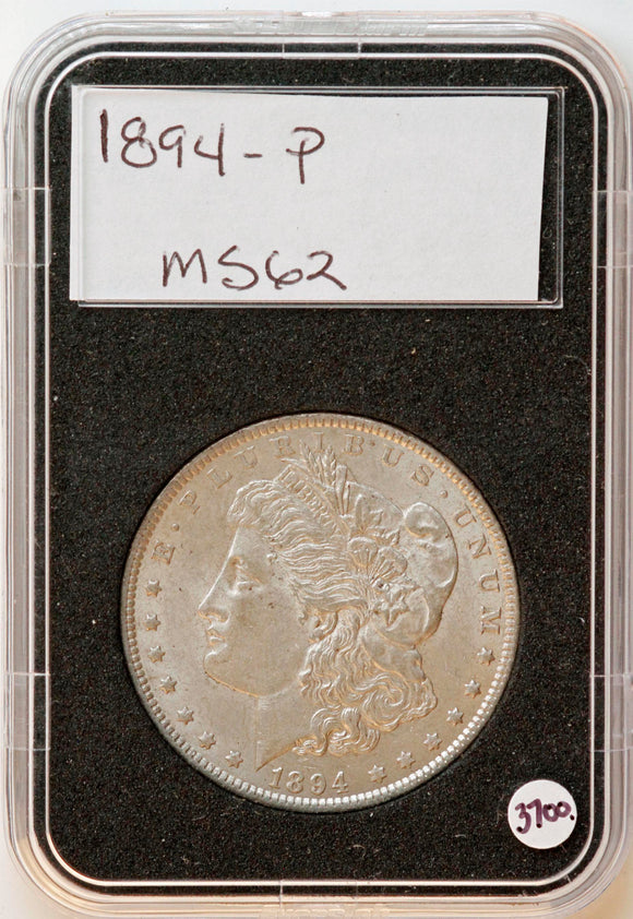 1894 Morgan Silver Dollar MS-62