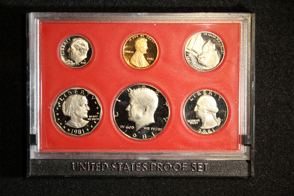 1981-S Mint Proof Set