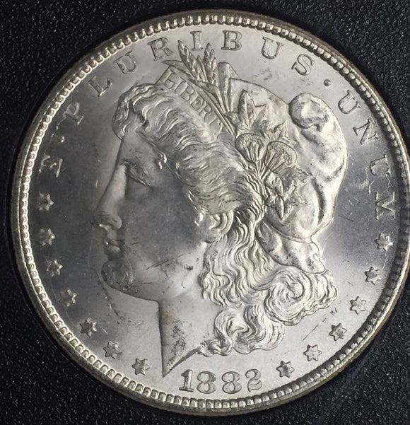 1882-CC GSA Carson City Morgan Dollar