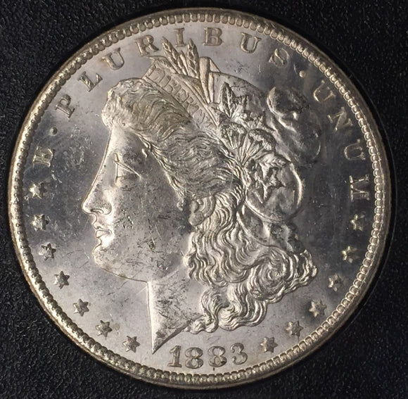 1883-CC  GSA Morgan Carson City Dollar