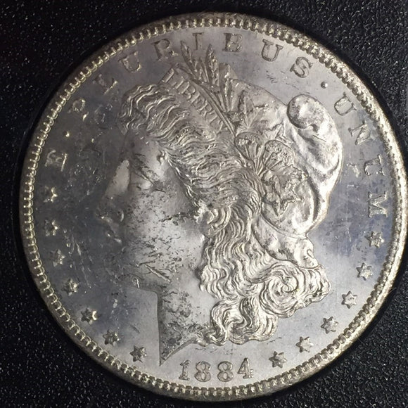 1884-CC GSA Morgan Silver Dollar