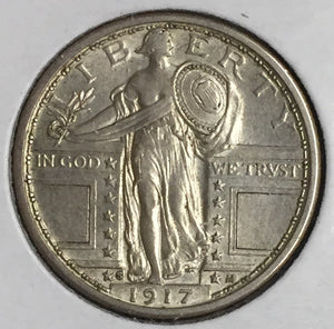 1917-S Type 1 Standing Liberty Quarter BU