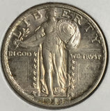 1918-S Standing Liberty Quarter Uncirculated