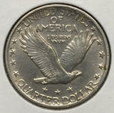 1919-D Standing Liberty Quarter Choice AU