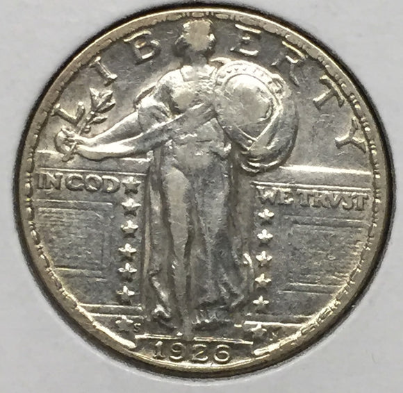 1926-S Standing Liberty Quarter Choice AU