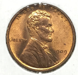 1909-VDB Lincoln Cent MS64RD