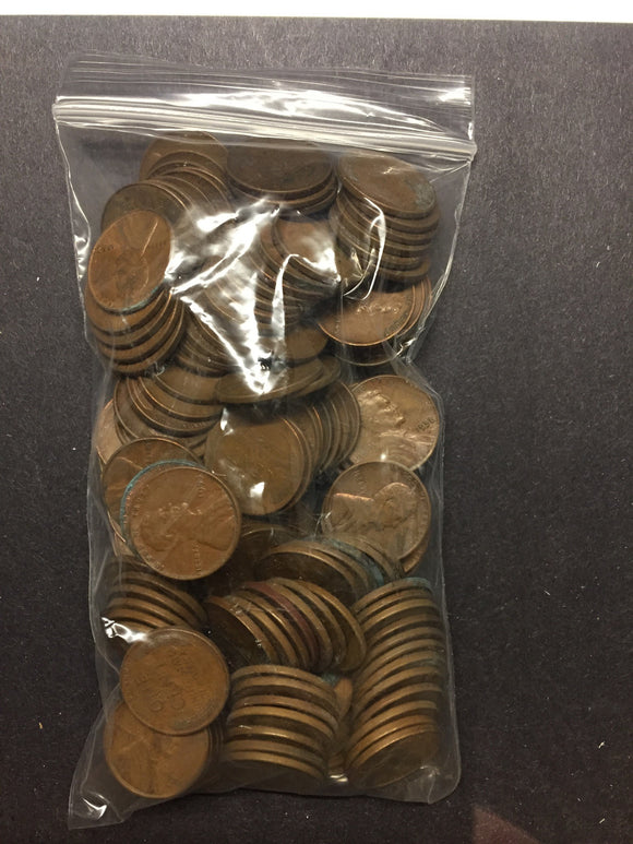 Pound of Wheat Cents 1909-1958 PDS