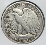 1929-S Walking Liberty Half VF