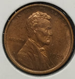 1909-VDB Lincoln Cent, MS63RB