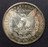 1887-S Morgan Silver Dollar, MS62+