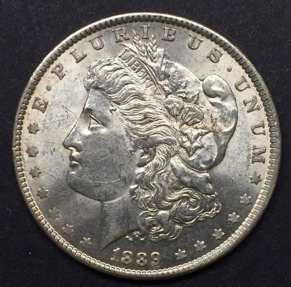 1889 Morgan Silver Dollar, MS62