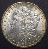 1902-O Morgan Silver Dollar, MS-62