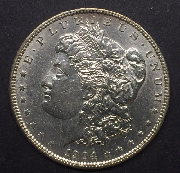 1904 Morgan Silver Dollar, MS60