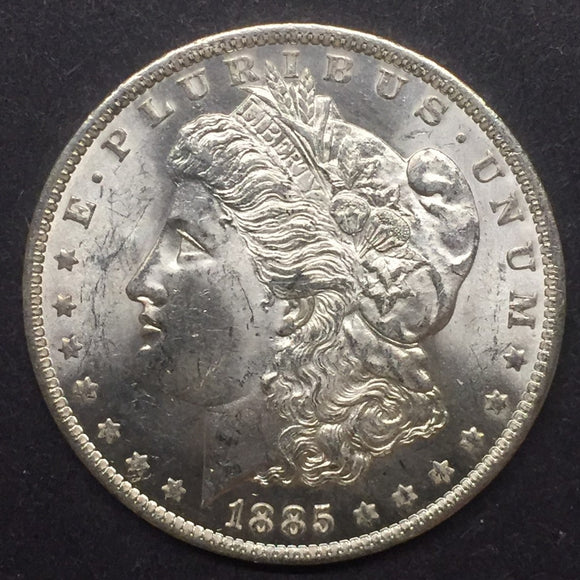1885-O Morgan Silver Dollar, MS63