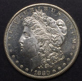 1880-S Morgan Silver Dollar, MS-63