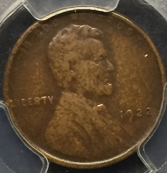 1922 No D Strong Rev. XF40 PCGS