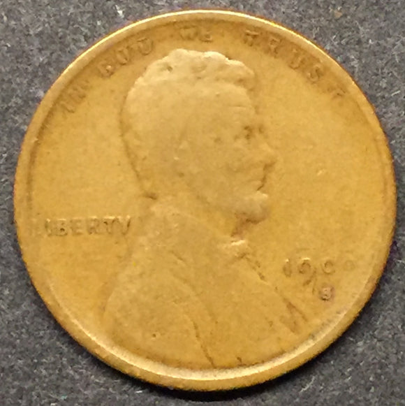 1909-SVDB Lincoln Cent GD-VG