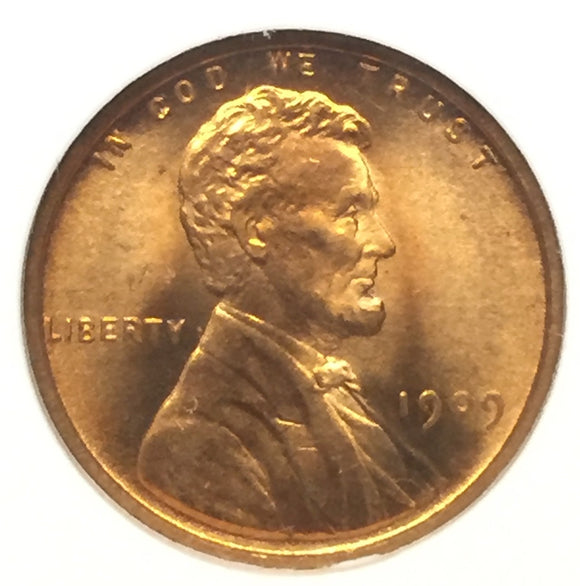 1909-VDB Lincoln Cent MS65RD NGC