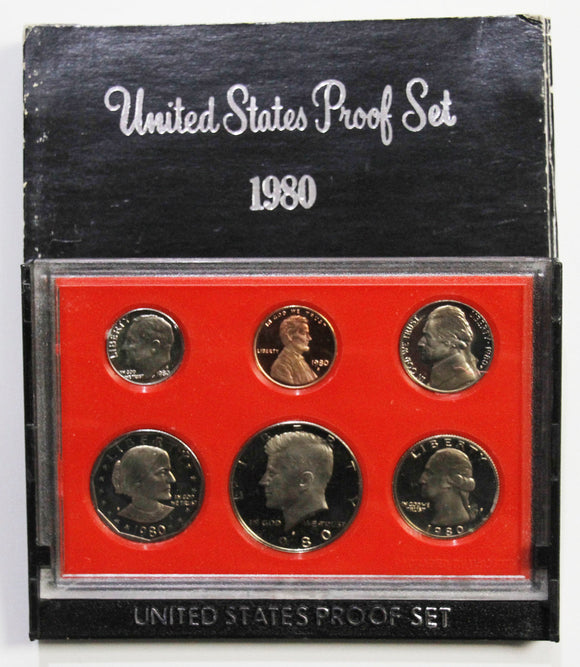 1980-S Mint Proof Set