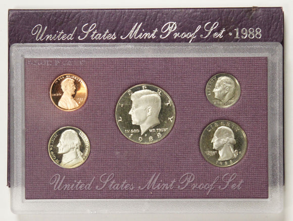 1988-S Mint Proof Set