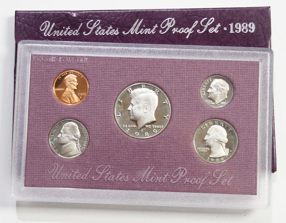 1989-S Mint Proof set