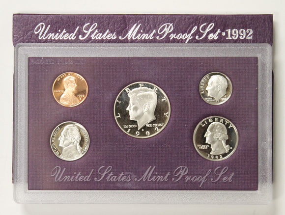 1992-S Mint Proof Set