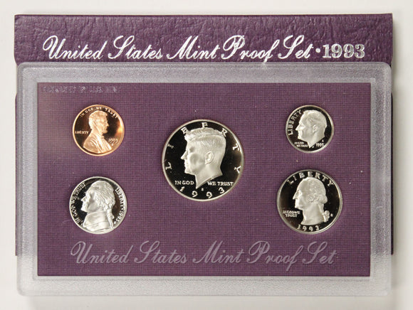 1993-S Mint Proof Set