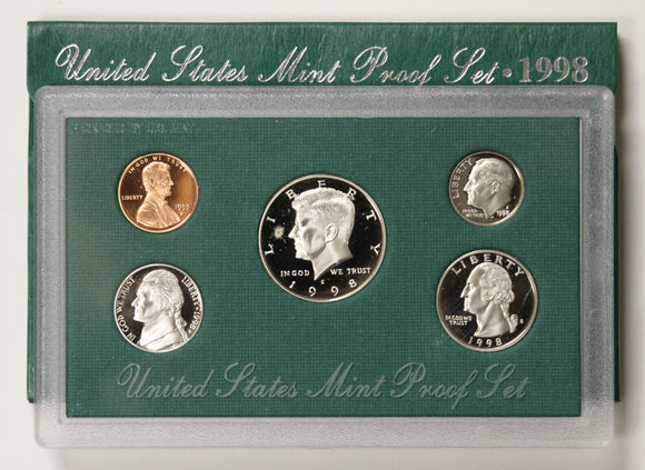 1998-S Mint Proof Set