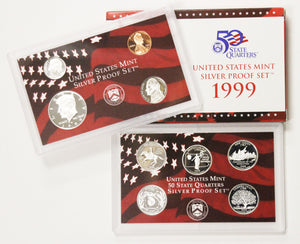1999-S Silver Mint Proof Set